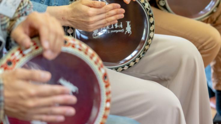 日本初純国産の『ダルブッカ』(中東の打楽器)製作プロジェクト