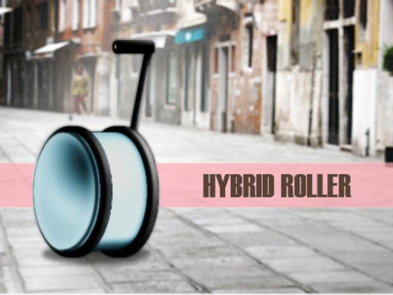 世界初丸型スーツケース「HYBRID ROLLER」を開発します!