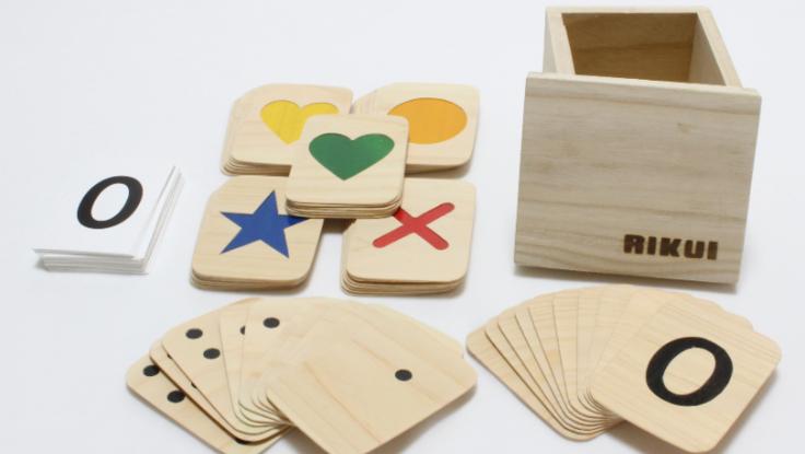 発達障害の子供たちの為のオリジナル知育具の製作、販売