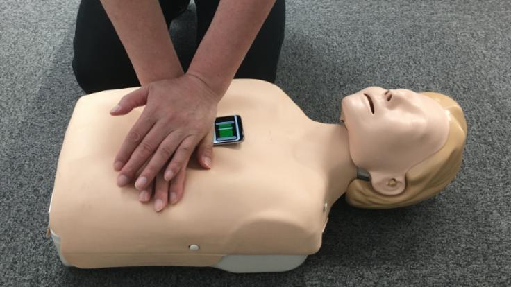 CPRトレーニング判定アプリ