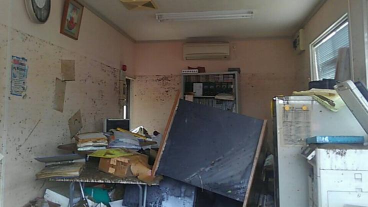 九州豪雨災害により、被災した父の事務所に寄付金を届けたい