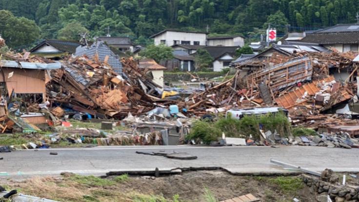 2020年九州豪雨災害復旧、支援物資