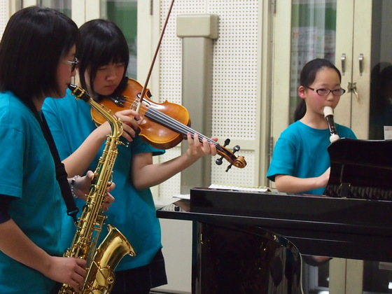 子供の福祉施設での演奏を広げていきたい!