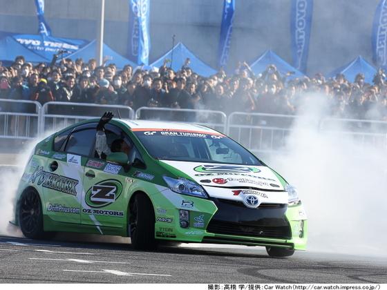 レース参戦できる排気ガスを出さないエコカーを開発します!