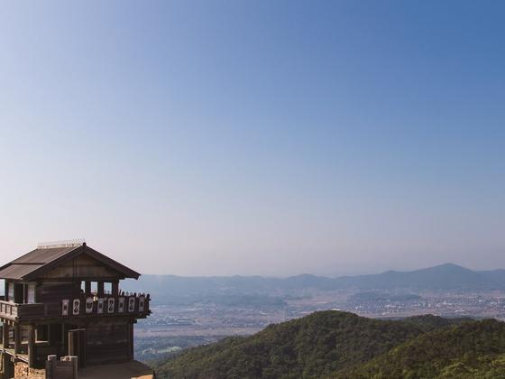 和菓子を食べて、桃太郎で有名な岡山「吉備野古道」を世界にPR