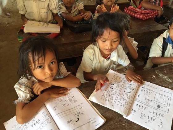 カンボジア農村部の小学生にオリジナル算数ドリルを届けたい!