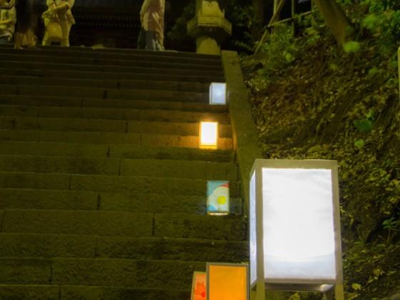 子どもたちの手づくり行灯でライトアップイベントを開催したい!