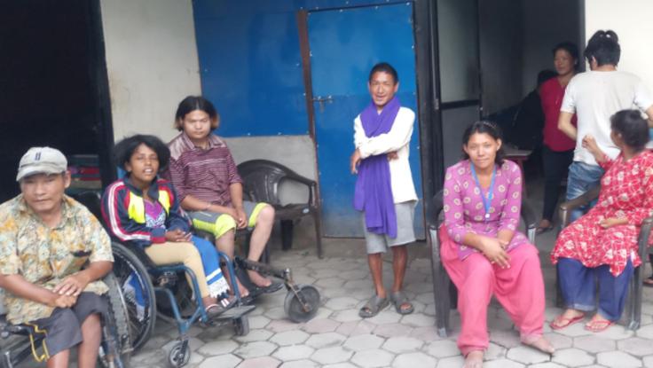 数日前までコロナ過でロックダウンとネパールの障害者施設を助けたい!