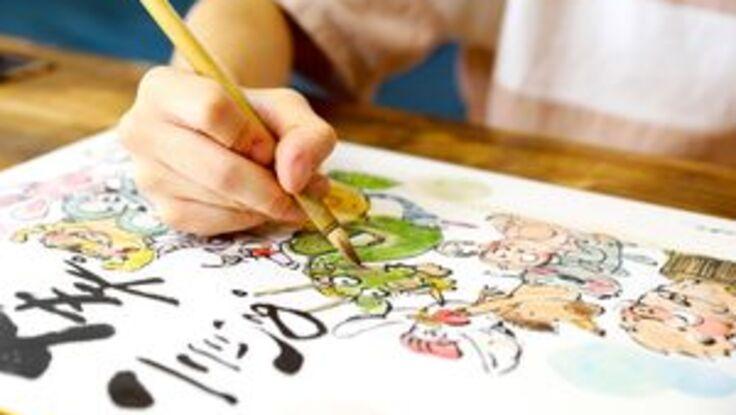 東日本大震災から10年 再び「ことば絵」で勇気と笑顔を届けたい