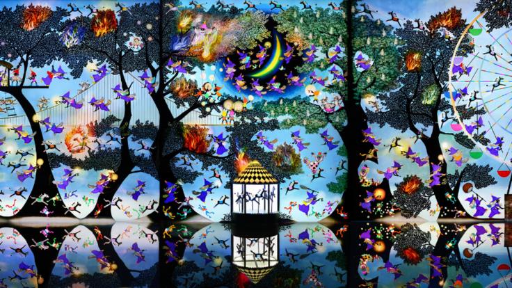 七色の光をあなたに届けます|影絵作家・藤城清治の世界にご支援を