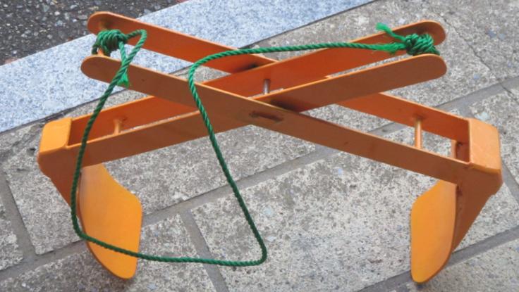 30㎏の米袋専用吊具の制作及び販売