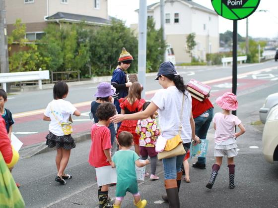 町を巻込むこども企画でこども力と遊びの重要性を地域にアピール