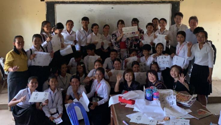 今年もやります! カンボジア バテイ高校に奨学金支援!!