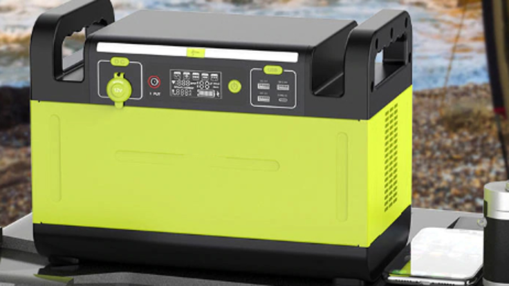 1500W 超大容量 スタイリッシュなポータブル電源 新登場