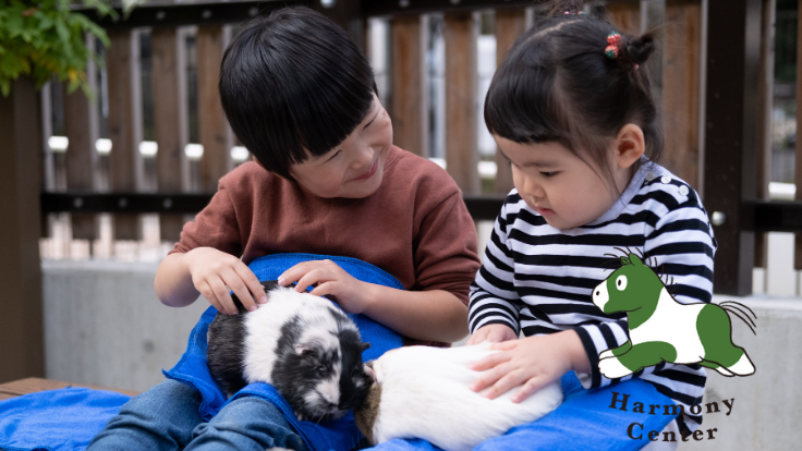 コロナ禍の障害児者の施設へ、動物とのふれあい体験をプレゼント!