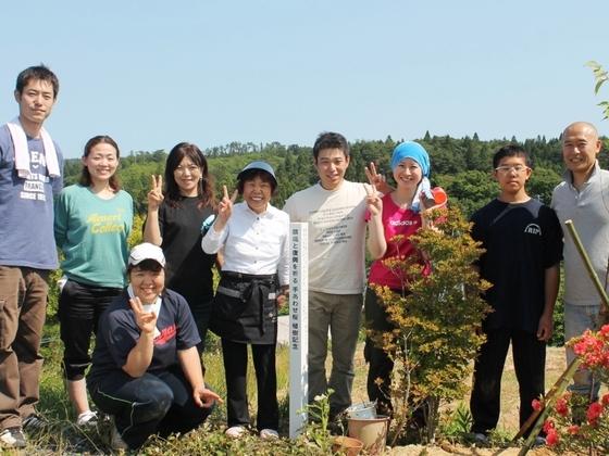 気仙沼に桜を!人々の心を癒す桜を植える『手あわせ桜プロジェクト気仙沼』