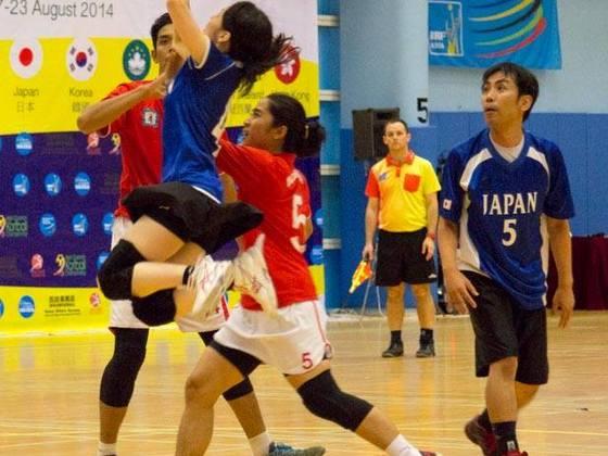 コーフボールアジア王者が来日!日本代表への強化講習を開催!