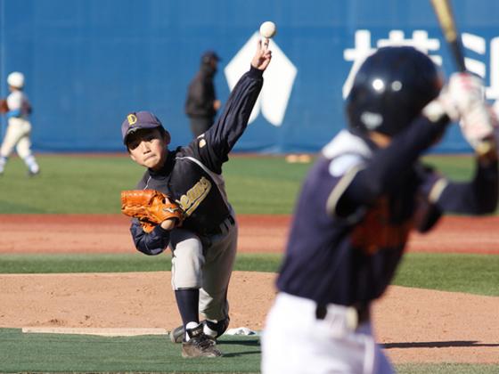 今冬、横浜スタジアムで日本で唯一の学童野球全国大会を開催!