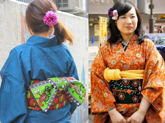アフリカのフェアトレード生地で仙台のお母さんたちが心を込めた着物帯「伊達衆帯」をつくる!