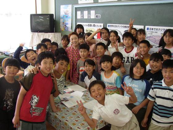 都内の小学生にクジラ問題を伝える絵本を寄贈したい!