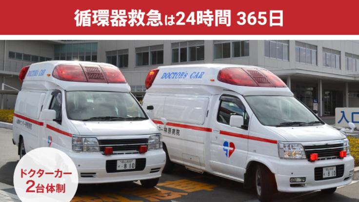 心臓病センター榊󠄀原病院:救急救命のためのクラウドファンディング