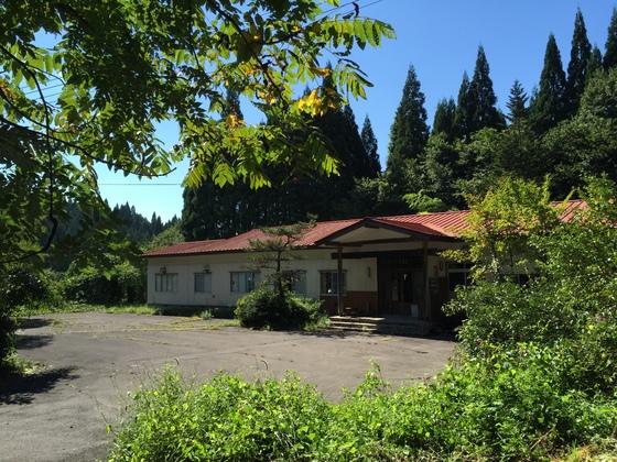 白神山地の麓、藤里町の旧町営温泉保養所を温泉カフェに改修!
