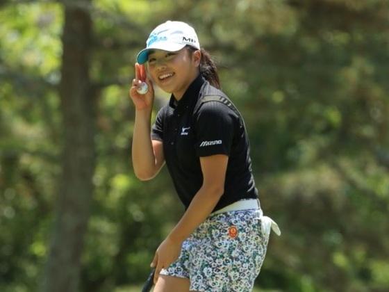 史上最年少女子高生プロゴルファーが、日本一を目指します!
