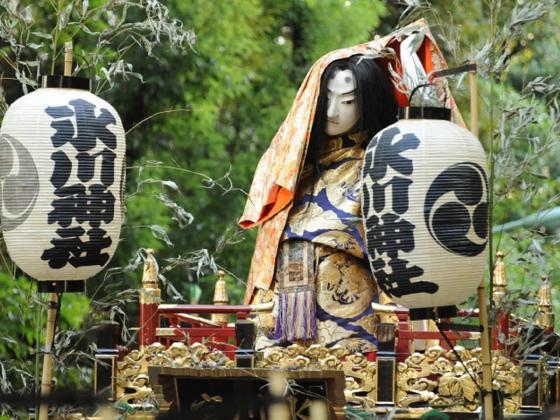 江戸時代のお祭り文化、赤坂氷川山車「猿」を修復し巡行させたい