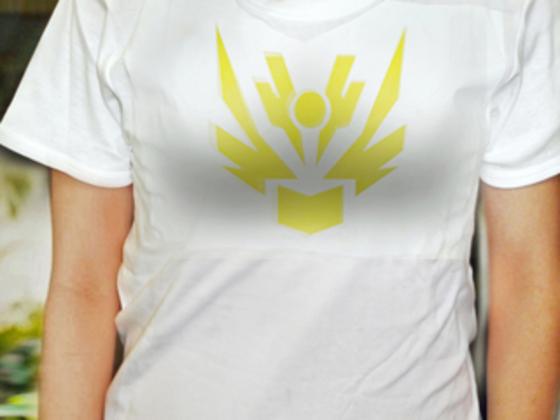 下着のラインを響きにくくするTシャツの宣伝素材を作成したい!