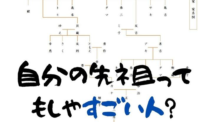 皆さんのご先祖は面白い人かも!格安で家系図を作る事業をしたい