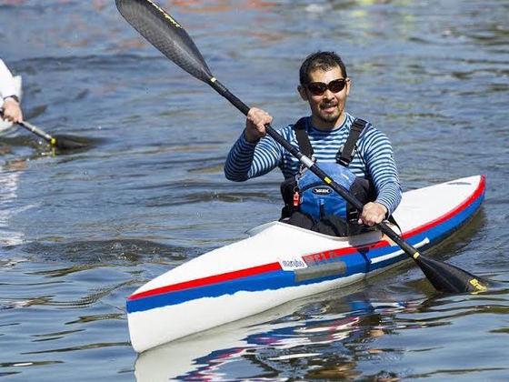 カヌーの辰己選手がパラリンピックで活躍できるように応援したい