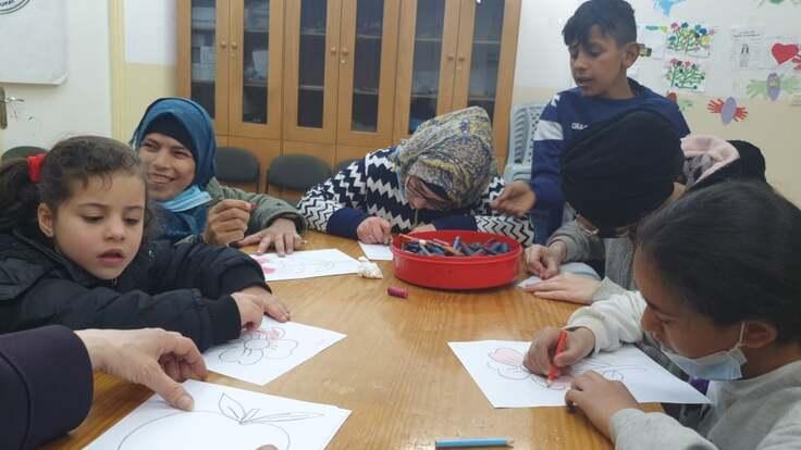 コロナ禍で苦しむシュファット難民キャンプの子ども達へ緊急支援
