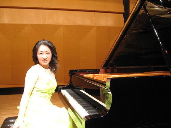 「牧瀬由紀子ピアノリサイタル」を開きたい!