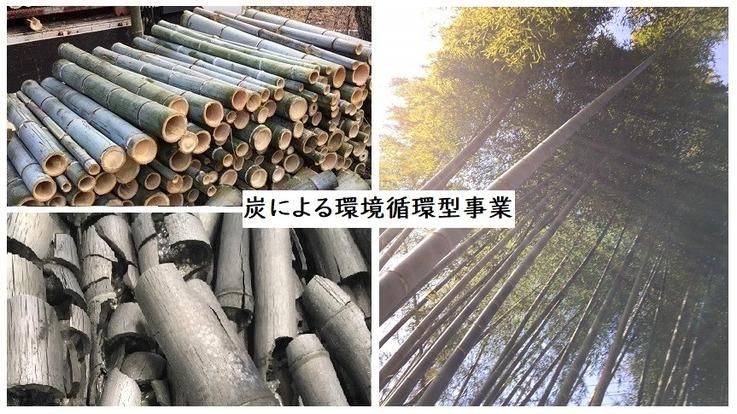 森林を整備し、炭を製造し生活に活かす環境循環型事業を!