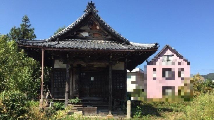 美濃市の倉津寺を再建したい!