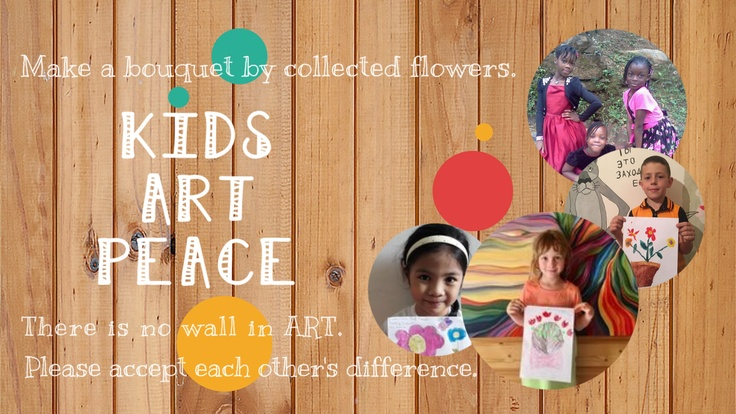 アートで世界平和!世界中の子供達の絵でオリジナルノート作成!