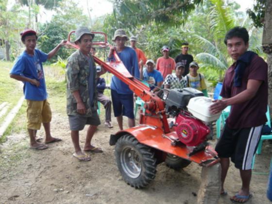 フィリピン農民支援に全力を注ぐフィリピン人が日本で技術を学ぶ
