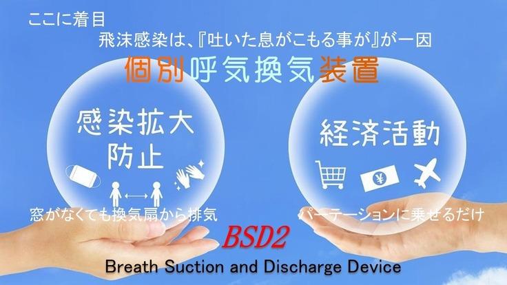 個別換気機能で飛沫防止に貢献する製品を開発