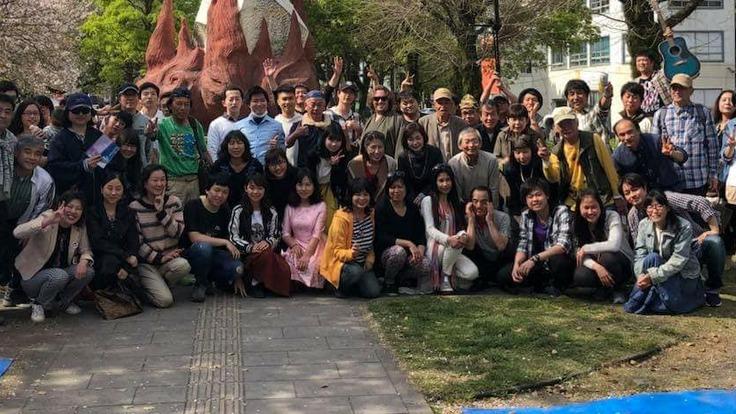 再挑戦 バリアフリー交流会 夏祭り盆踊りフェスティバル