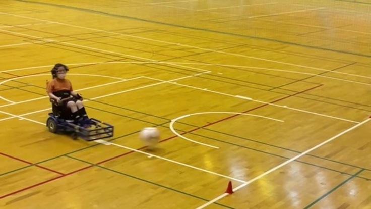 電動車椅子サッカーにかける