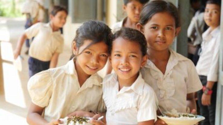 ホープ創立20周年 カンボジアの子どもたちに小学校を届けたい!