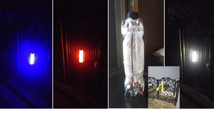 夜間震災時用防災ライトを町内会の世帯数分作り共助を実践したい。
