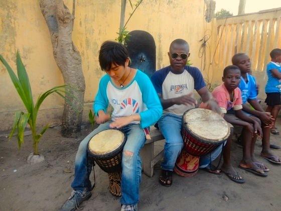西アフリカ・トーゴの子どもたちに、和太鼓の音色を聴かせたい!