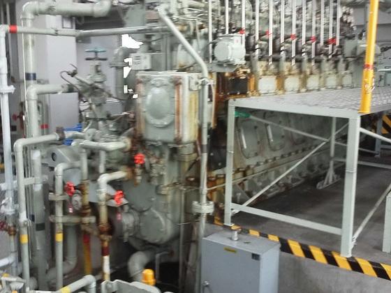 環境汚染防止のために海技大学の大型機関で新燃料の研究をしたい
