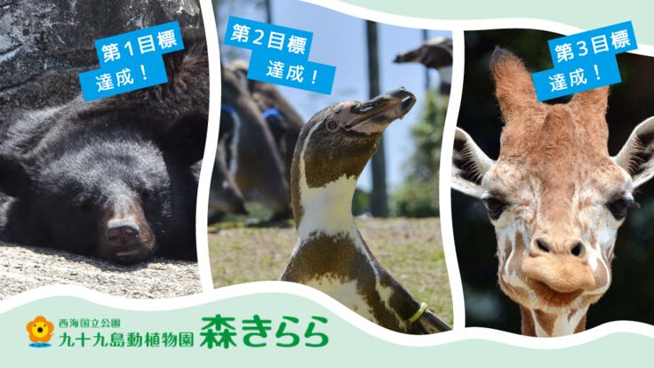 森きらら|動物たちが生き生きと過ごせる環境づくりにご支援を!