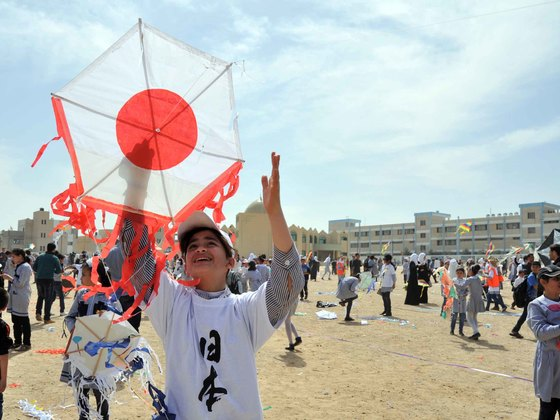 釜石とガザをつなぐ「夢と希望の凧揚げ交流会」を開催したい!