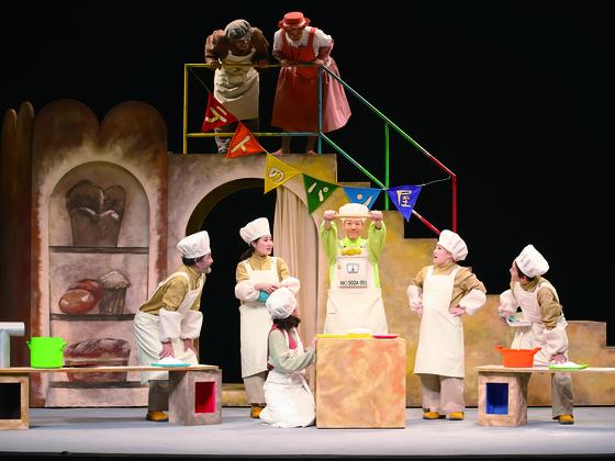 幼児から楽しめるオペラに、関西に避難している親子を招待したい