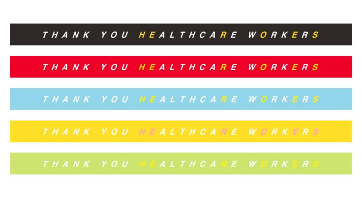 医療従事者へ「ありがとう」を伝えるリストバンドを創ります!