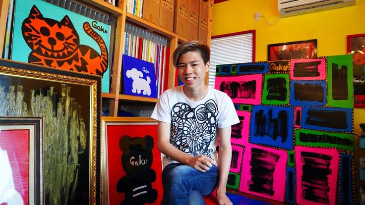 『byGAKU - 20』自閉症アーティストの記念画集プロジェクト
