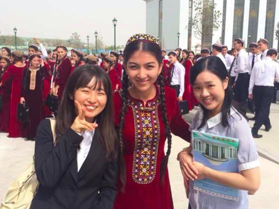 トルクメニスタンに日本を、日本にトルクメニスタンを届けたい!